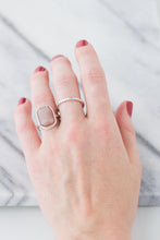 Load image into Gallery viewer, Peach Moonstone Ring