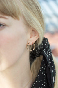 Bold Circle Earrings