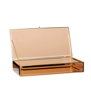 Brown Glass Display Box