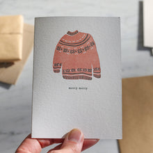 Load image into Gallery viewer, Christmas Sweater Card