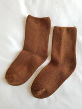 Load image into Gallery viewer, Cloud Socks - Sepia