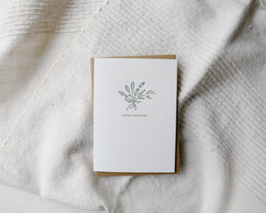 Flowers For You Card