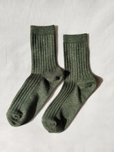 Load image into Gallery viewer, Her Socks - Pine Glitter