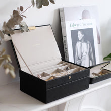 Load image into Gallery viewer, Black Classic Jewellery Box