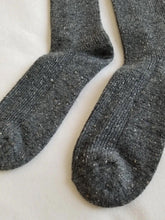Load image into Gallery viewer, Snow Socks - Charcoal