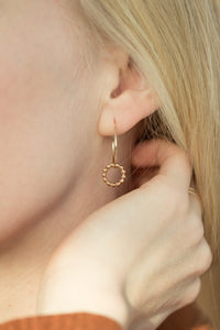 Linked Dot Hoops