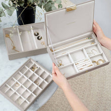 Load image into Gallery viewer, Taupe Classic Jewellery Box