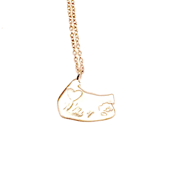 Williamsburg charm necklace