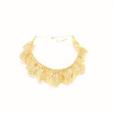 Gold lace choker