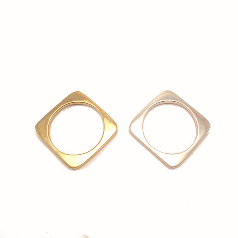 Square small ring