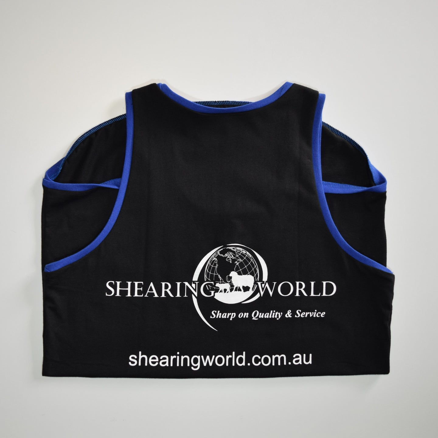 SHEARING WORLD COTTON SINGLET