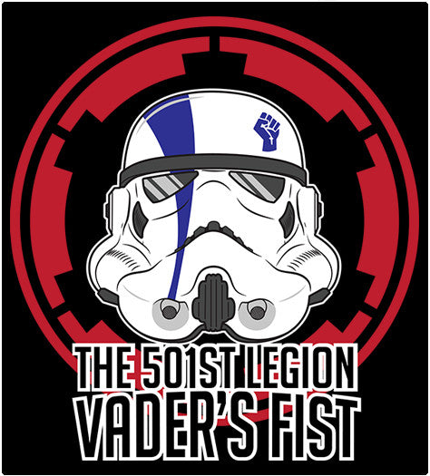 501st-T-Shirt-Star Wars-Shirt Battle