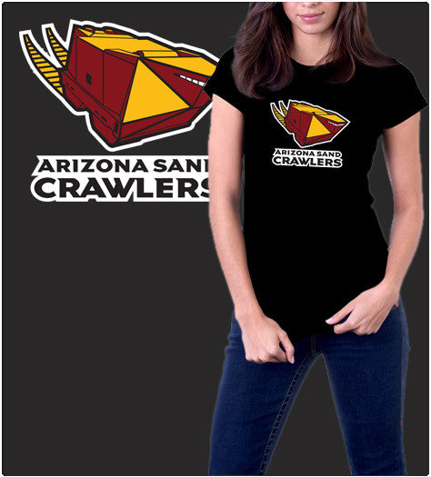 Arizona Sand Crawlers-T-Shirt-Star Wars-Shirt Battle