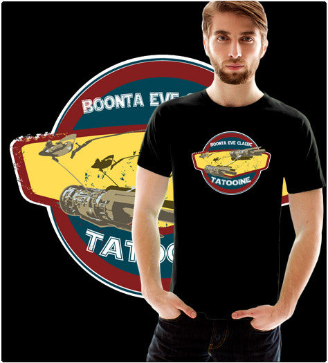 BOONTA EVE-T-Shirt-Star Wars-Shirt Battle