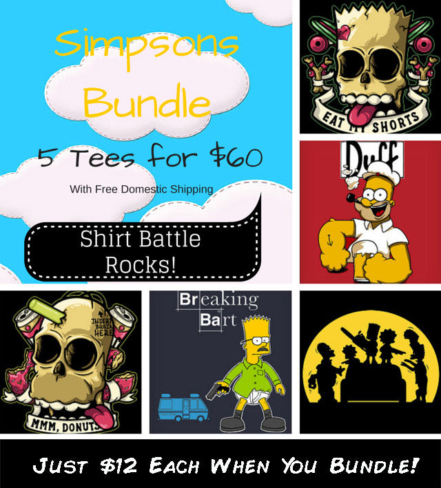 Bart and Homer Bundle
