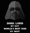 Dark Lord Best Dad-T-Shirt-Star Wars-Shirt Battle