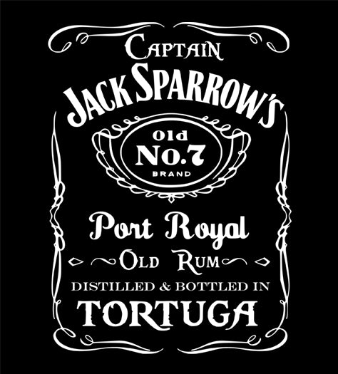 Captain Jack Sparrow's Old No.7