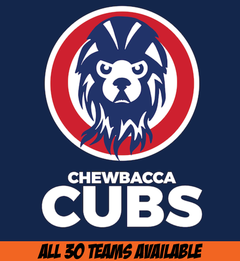 Chewbacca Cubs Retro