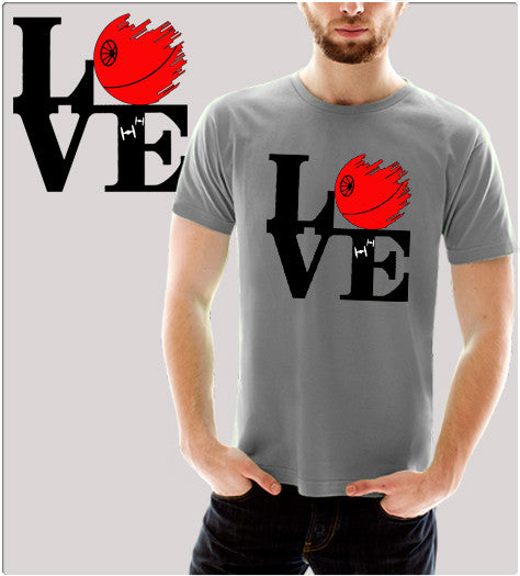 Dark Love-T-Shirt-Star Wars-Shirt Battle