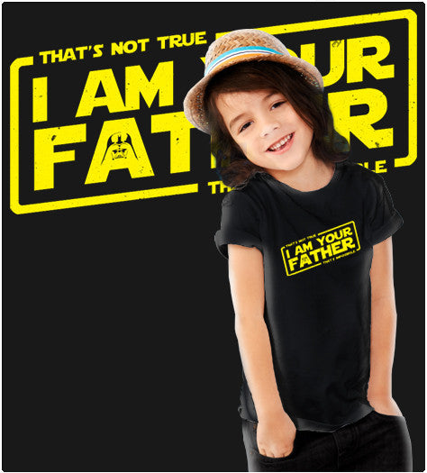 I AM YOUR FATHER-T-Shirt-Star Wars-Shirt Battle
