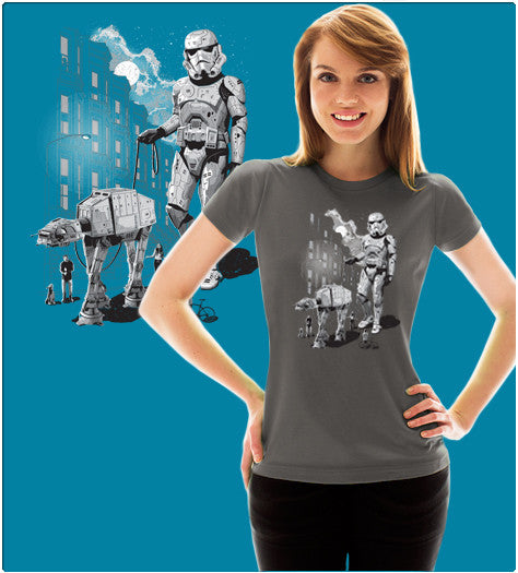 HOLIDAY-T-Shirt-Star Wars-Shirt Battle