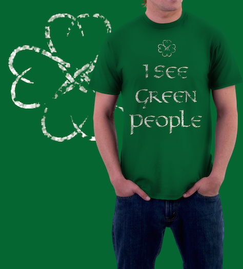 I See Green People Shirt