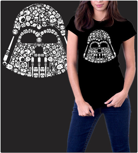 ICONIC DARTH-T-Shirt-Star Wars-Shirt Battle