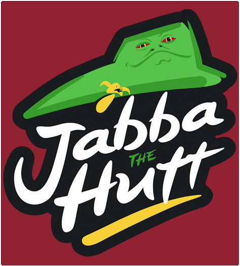 Jabba The Hutt-T-Shirt-Star Wars-Shirt Battle