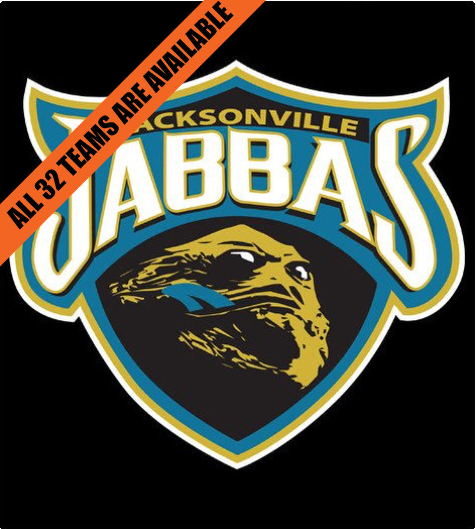 Jacksonville Jabbas-T-Shirt-Star Wars-Shirt Battle