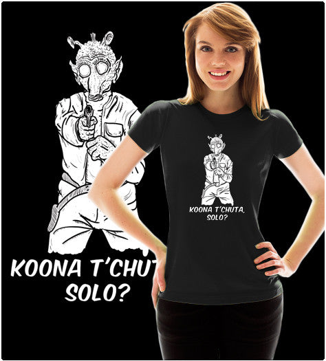 KOONA T'CHUTA, SOLO?-T-Shirt-Star Wars-Shirt Battle