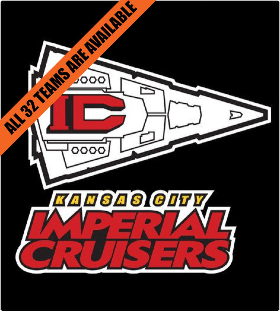 KC Imperial Cruisers-T-Shirt-Star Wars-Shirt Battle