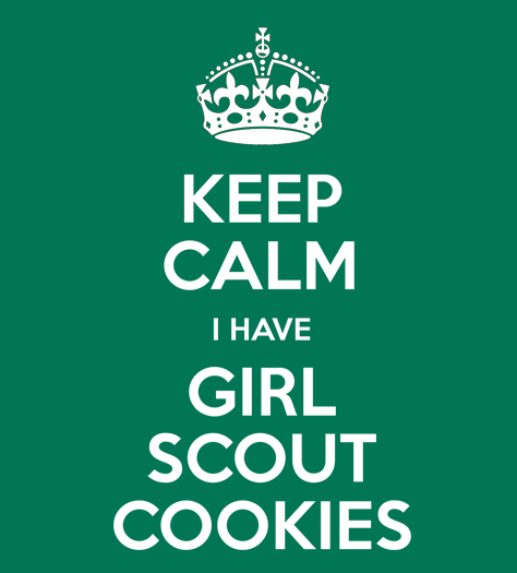 KEEP CALM GIRL SCOUT