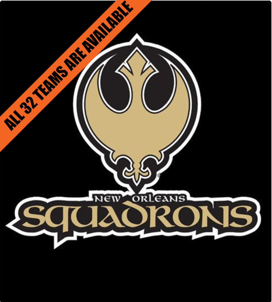 New Orleans Squadrons-T-Shirt-Star Wars-Shirt Battle