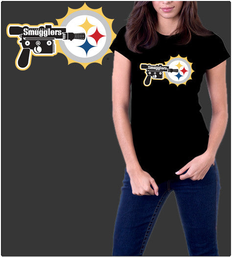 Pittsburgh Smugglers-T-Shirt-Star Wars-Shirt Battle
