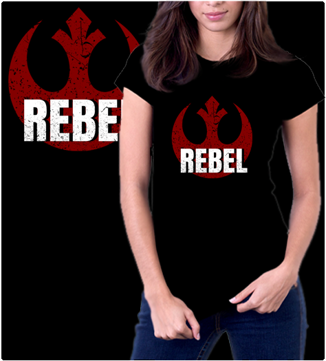 Rebel One-T-Shirt-Star Wars-Shirt Battle