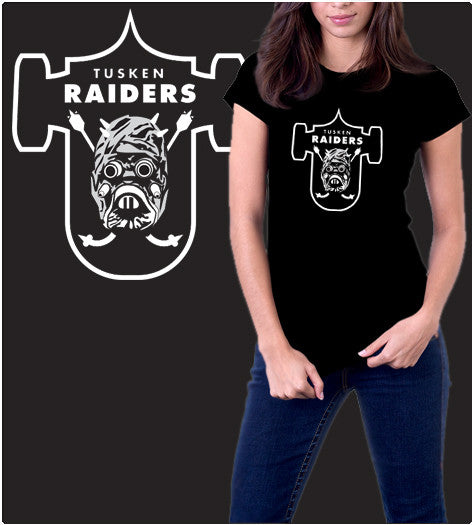 Tusken Raiders-T-Shirt-Star Wars-Shirt Battle