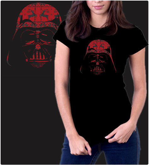 Holiday pattern darth Vader, Christmas t shirt
