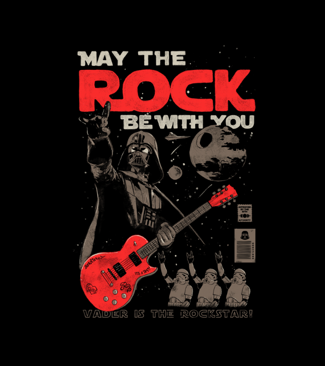 May the Rock Be with You