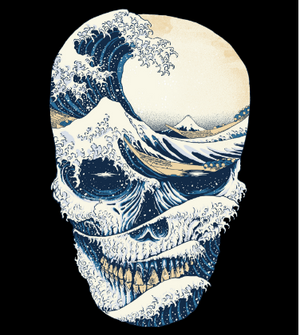 The Great Wave off Skull