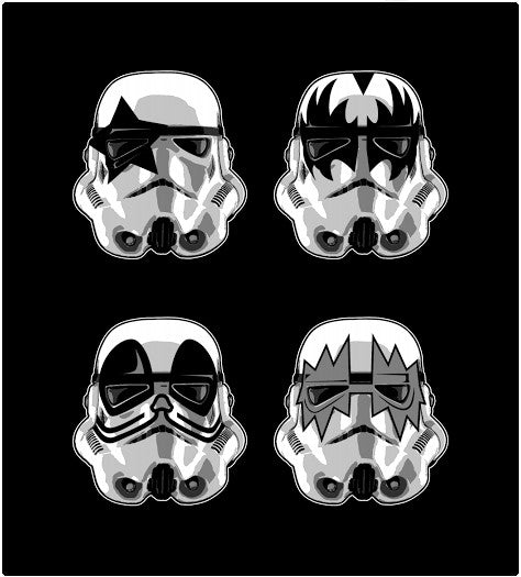 Storm Trooper Kiss