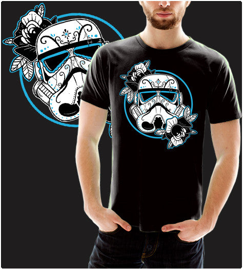 Sugar Trooper-T-Shirt-Star Wars-Shirt Battle
