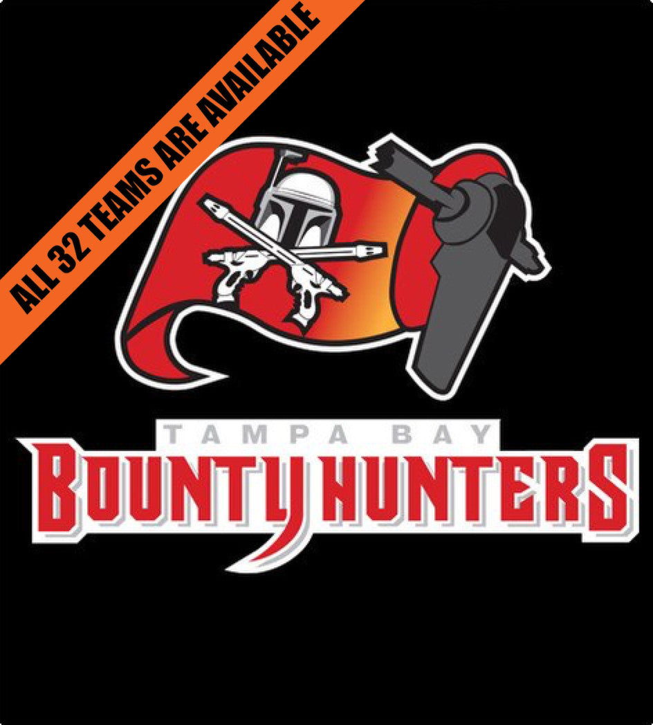 Tampa Bay Bounty Hunters-T-Shirt-Star Wars-Shirt Battle