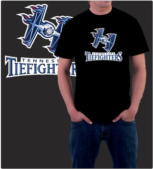 Tennessee Tiefighters-T-Shirt-Star Wars-Shirt Battle
