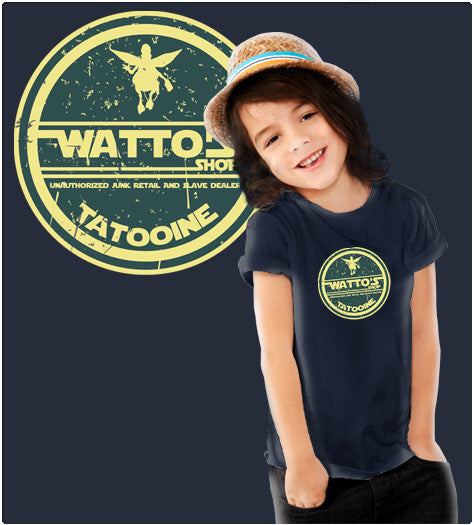 WATTO SHOP-T-Shirt-Star Wars-Shirt Battle