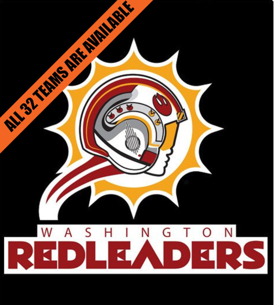 Washington Red Leaders-T-Shirt-Star Wars-Shirt Battle