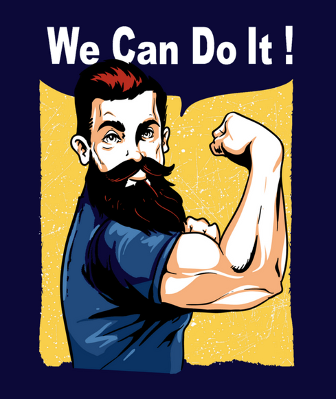 We Can Do It Beard