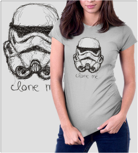Clone Me-T-Shirt-Star Wars-Shirt Battle