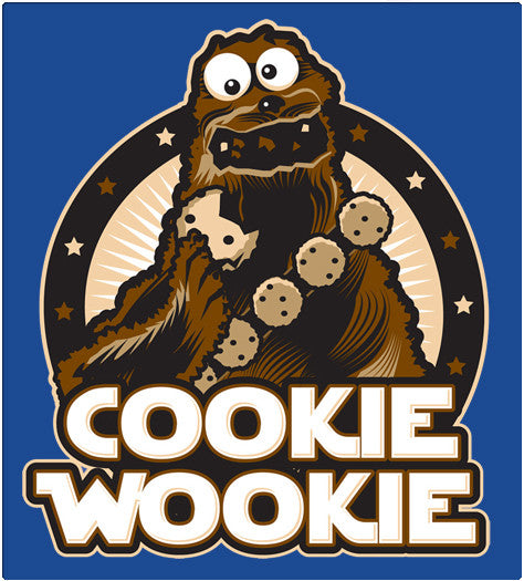COOKIE WOOKIE-T-Shirt-Star Wars-Shirt Battle