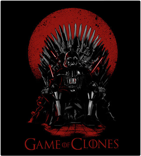 GAME OF CLONES-T-Shirt-Star Wars-Shirt Battle