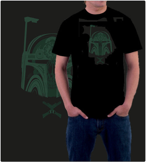 SKULL BOBA-T-Shirt-Star Wars-Shirt Battle